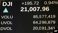Berzanski indeks Dau Džons premašio 21.000 poena, 1. mart 2017.