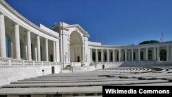 미국 워싱턴 인근 알링턴 국립묘지의 원형극장.
