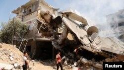 Gaza City, 23. juli 2014.