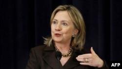 """Dövlət katibi Klinton:""""Vaşinqton Yaxın Şərq sülh prosesində bundan sonra passiv iştirakçı olmayacaq."""""""