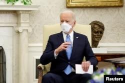 U.S. President Joe Biden visits Pentagon