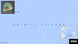 Pagasa Island, in the Spratley Islands