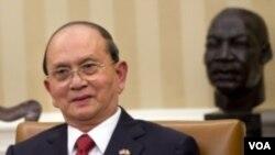 ປະທານາທິບໍດີ ມຽນມາ ທ່ານ Thein Sein ຈະພົບປະກັບ ສະມາຊິກຂັ້ນສູງຂອງ ລັດຖະສະພາ ສະຫະລັດ ໃນວັນອັງ ຄານມື້ນີ້.