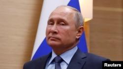 រូបឯកសារ៖ ប្រធានាធិបតីរុស្ស៊ីលោក Vladimir Putin