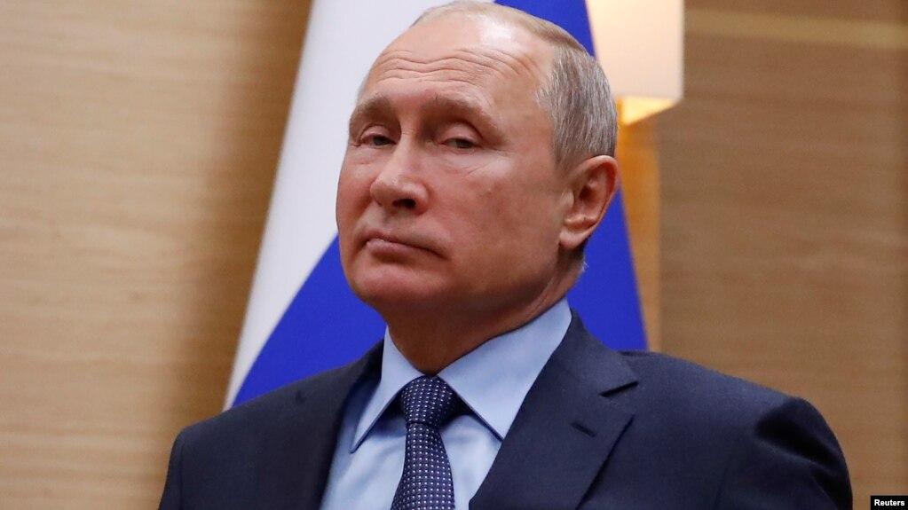Tổng thống Nga Vladimir Putin hôm 5/12/2018