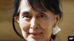 緬甸民主派領袖昂山素姬