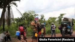 Abakongomani bo muri Kasai birukanywe muri Angola