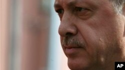 Turkish Prime Minister Recep Tayyip Erdogan is seen in a February 25, 2013, file photo.