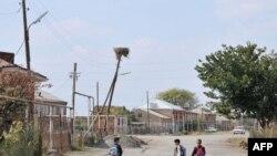 ترکی کی سرحد سے متصل آرمینیا کا ایک گاؤں