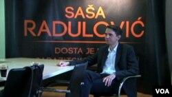 """Radulović: """"Ne možemo da idemo brzinom puža, pošto sedimo u vozu koji ide unazad, tako da za svakog građanina Srbije svaka izgubljena godina je nazadak."""""""