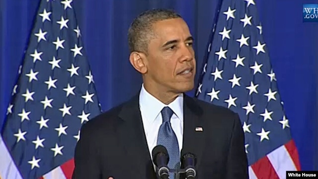 President Obama Speaks on Counterterrorism Policies, May 23, 2013.