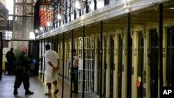 Couloir de la mort, prison d'Etat de San Quentin, Californie, Etats-Unis, le 16 août 2016.