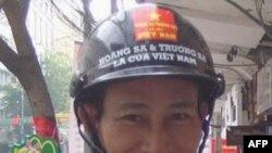 Nguyễn Văn Hải ນຶ່ງໃນສາມຄົນ ທີ່ຖືກຕັດສິນຈໍາຄຸກ ຍ້ອນລົງພິມບົດຂຽນທາງອິນເຕີແນັທ ກ່ຽວກັບເລື່ອງສິດທິມະນຸດ ແລະອື່ນໆ ໃນຫວຽດນາມ.