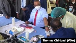 Zimbabwe Vice President Prepares for Covid 19 Vaccine