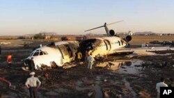 71 νεκροί από πτώση αεροσκάφους στο Ιράν