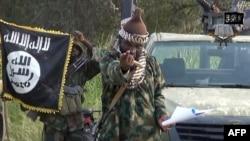 Thủ lĩnh nhóm Boko Haram Abubakar Shekau.