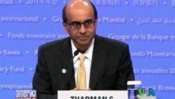 Xalqaro Valyuta Jamg'armasi yig'ini bu safar namoyishsiz o'tdi /IMF Leaders Meet in Washington