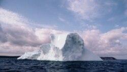 دانشمندان ضخامت يخ در اقيانوس منجمد شمالی را اندازه گيری می کنند