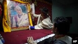 资料照 尼泊尔的西藏难民迎接藏历新年