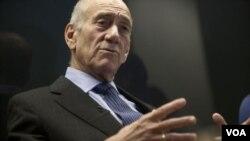 ອະດີດນາຍົກລັດຖະມົນຕີ Ehud Olmert ຂອງ ອິສຣາແອລ