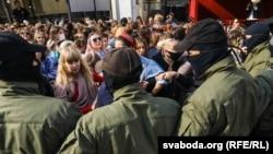 Акция протеста женщин, Минск, 12 сентября 2020 года