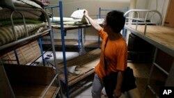 중국의 한 사설감옥 내부. (자료사진)