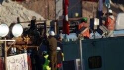 پایان حفاری یک استوانه برای نجات معدنچیان در شیلی