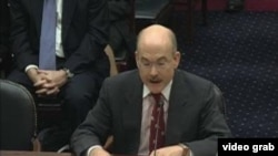 美国国务院主管东亚太平洋事务的代理副助理国务卿朱姆沃尔特(美国之音视频截图)