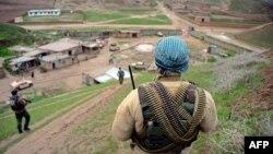 نیروهای امنیتی افغانستان در بادغیس (عکس از آرشیف)