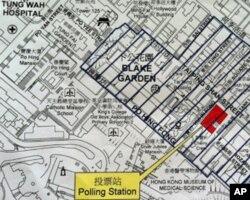 选举当局设置了拉票禁区