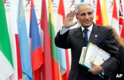 FILE - Pakistan's Special Assistant to Prime Minister on Foreign Affairs Syed Tariq Fatemi.