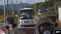 Yaponiyada müxbirlər zədələnmiş nüvə stansiyasına baş çəkiblər