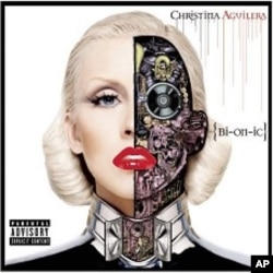 Christina Aguilera's Bionic CD cover