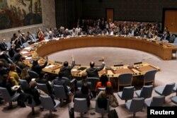 지난 2015년 12월 뉴욕 유엔본부에서 북한 인권 상황에 관한 안보리 회의가 열렸다.