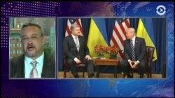 Трамп встретился с Порошенко