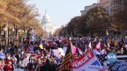 Як пройшов «Марш за Трампа» у столиці США. Відео