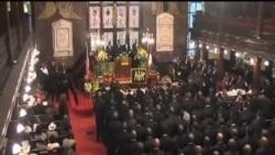 南卡民眾為槍擊案遇難者舉行葬禮
