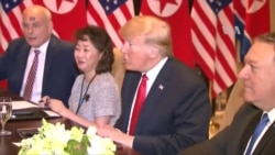 """""""Resolveremos un gran problema"""", aseguró Trump a Kim Jong Un"""