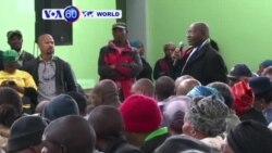 Minisitiri Fikile Abalula Ushinzwe Polise muri Afurika y'Epfo Yaganiriye n'Abaturage i Philippi mu Mujyi wa Cape Town Ahishwe 11