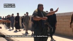 Desperate IS Fighters Surrender to US-backed Forces in Deir el-Zour