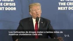 Trump quiere pena de muerte para traficantes de drogas