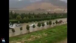 جاری شدن دوباره سیل در کمربندی شهر شیراز