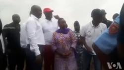 Les autorités ivoiriennes sur le lieu du crash d'avion au large d'Abidjan (Vidéo)