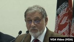 د ټاکنو د خپلواک کمیسیون رئیس احمد یوسف نورستانی