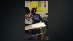 Violencia dentro de un salón de clase en Carolina del Sur
