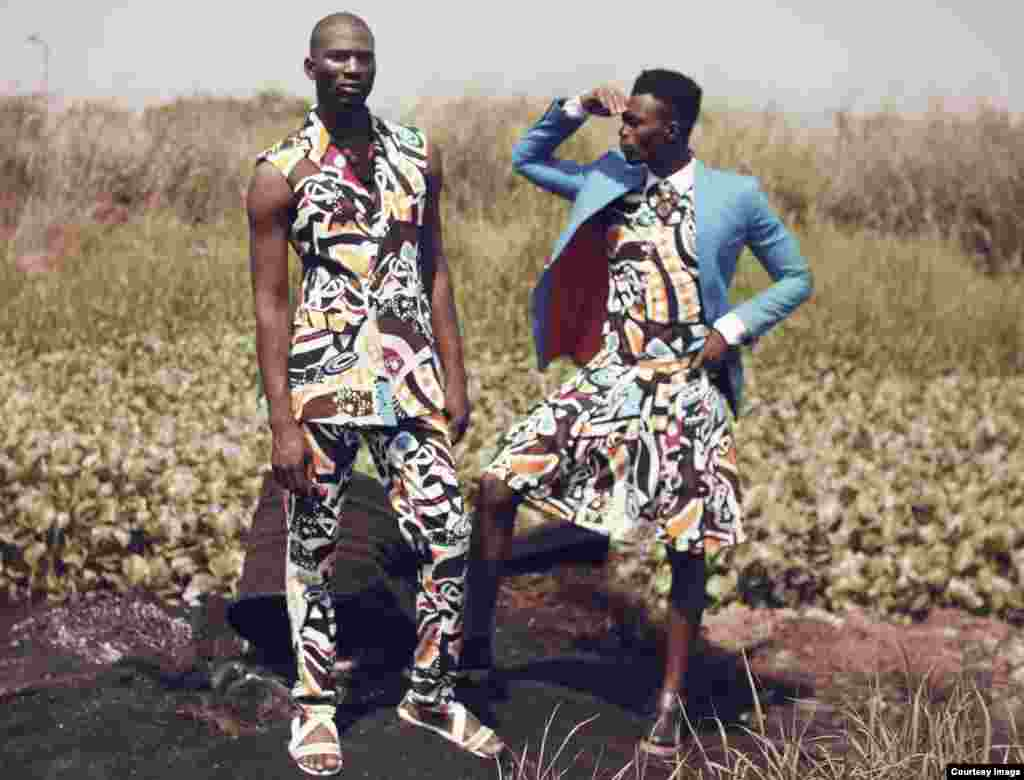 """Abebayo Oke-Lawal's goal is to create a niche in men's fashion """"all over the world and representing my countrymen to the fullest."""" (Photo Courtesy Orange Culture)"""