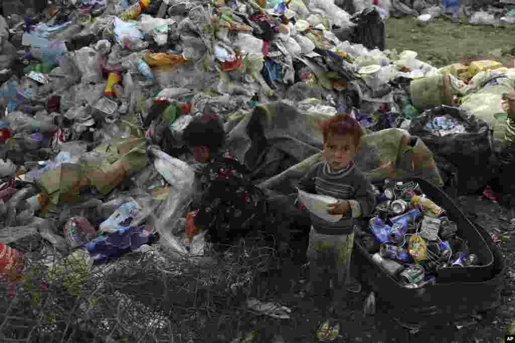 Əfqanıstan - Kabil uşaqları
