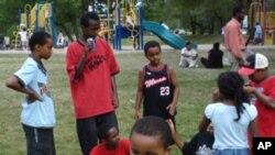 امریکہ میں بچوں کے جم خانوں کا فروغ