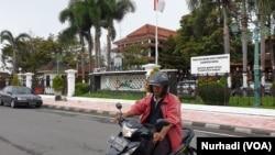 Kantor Bupati Bantul, DI Yogyakarta. (Foto:VOA/ Nurhadi)