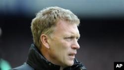 L'entraîneur écossais de Sunderland David Moyes, 20 avril 2014.